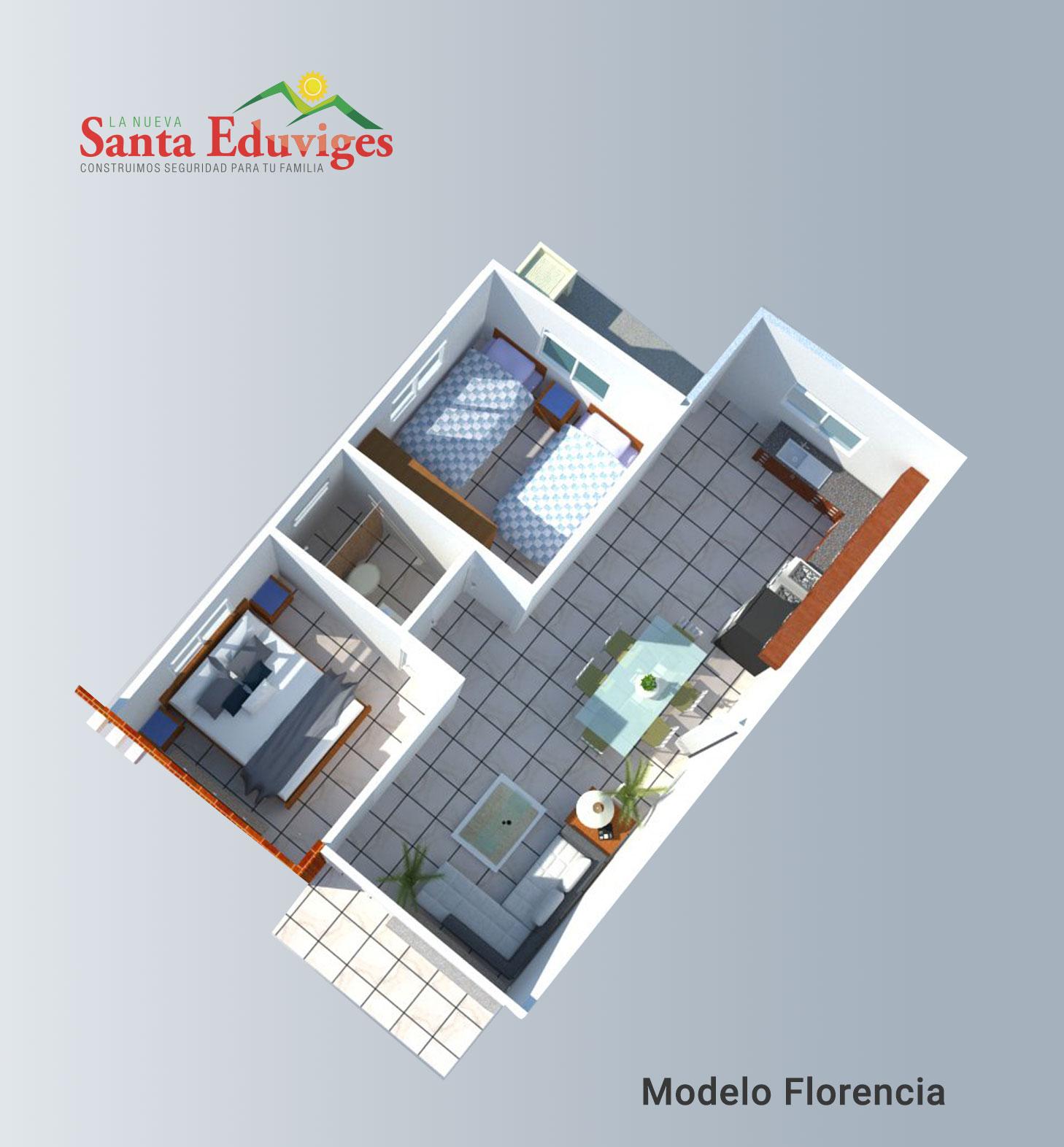 Modelo Florencia Planta