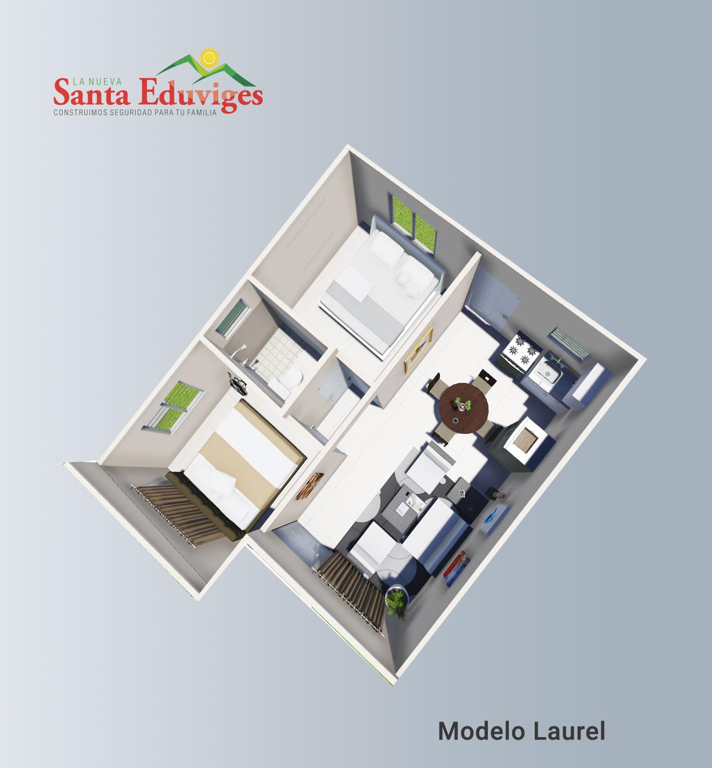 Modelo Laurel Full Planta