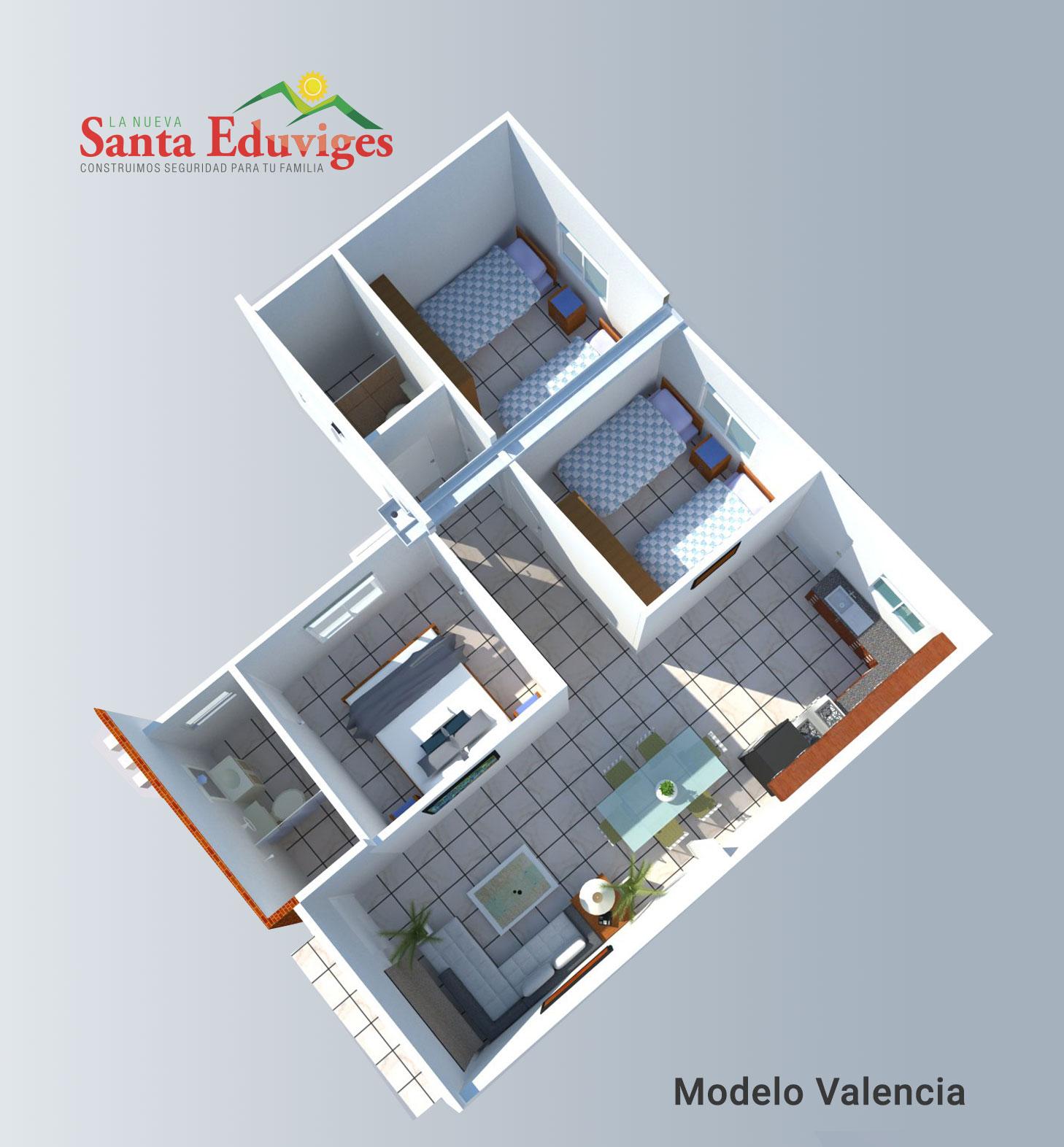 Modelo Valencia Planta